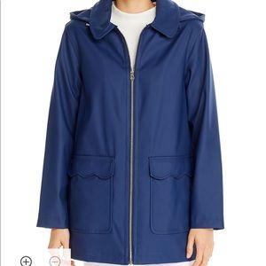 Kate Spade scalloped trim jacket